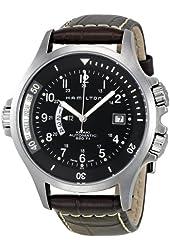 Hamilton Men's H77615833 Khaki Navy GMT Automatic Watch