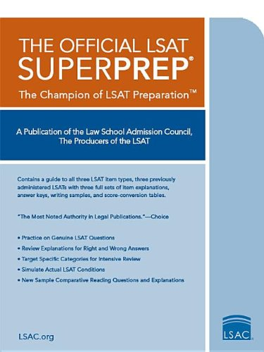 Get free download the official lsat superprep the champion of lsat the official lsat superprep the champion of lsat prep by law school admission council fandeluxe Choice Image