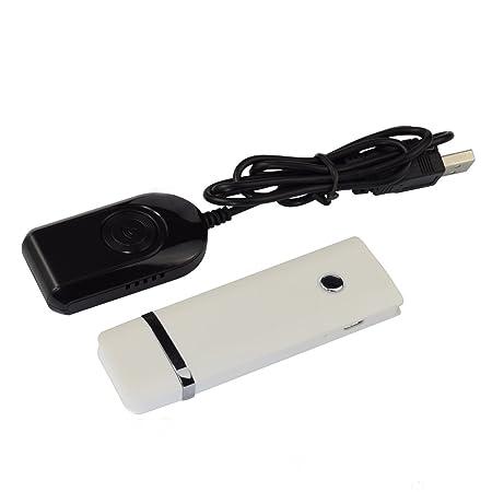Goliton® 5G 2.4G double bande de transmission sans fil HDMI et le partage avec le dispositif de l'écran pour partager poussoir sans fil-Blanc