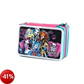 SEVEN 392011301 ASTUCCIO 3 CERNIERE MONSTER HIGH