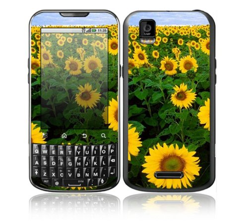 Sun Flowers Design Decorative Skin Cover Decal Sticker for Motorola Droid XPRT Cell Phone