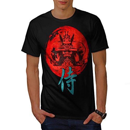 japonais-rouge-symbole-asiatique-homme-nouveau-noir-xl-t-shirt-wellcoda