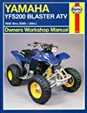Haynes Manual for Yamaha YFS200 Blaster ATV (88 - 06) Including an AA Microfibre Magic Mitt