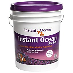 Instant Ocean Sea Salt, 160-Gallon