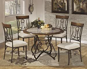 Hops 5pc Round Dining Table And Chair Set Table Chair Sets