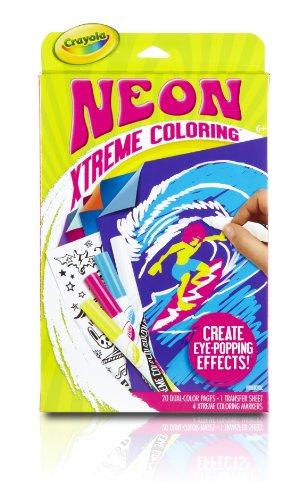 Crayola Neon Extreme Coloring Kit