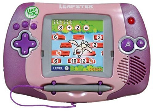 LeapFrog-Leapster-Learning-Game-System-Pink