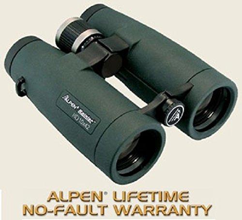 Alpen Optics Rainier 10X42 Waterproof Model 77 Hd Hunting Binoculars