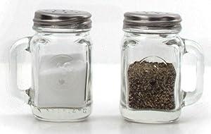 Kikkerland Mason Jar Salt and Pepper Shakers by Kikkerland