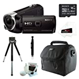 51wCweW 8JL. SL160  Sony HDR PJ230/B 8GB Full HD Camcorder with Projector Bundle with Sony 16GB Memory Card + Sony Soft Carrying Case + Replacement Battery NP FV50 + Accessory Kit