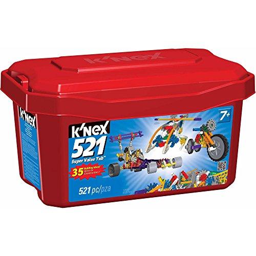 K'NEX 521 Piece Value Tub (Knex 521 Building Set compare prices)