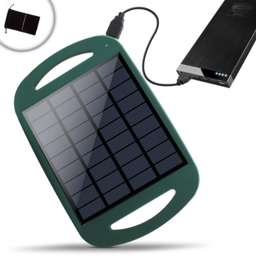 Revive Solar Restore Backyard & Outdoor Solar Panel Charger W/ Active Usb 5V Charging - Works W/ The Revive Solar Restore, Restore 4000 , Restore 9200 , Restore Q5000 & Many Other External Battery Power Packs - Includes Accessory Bag