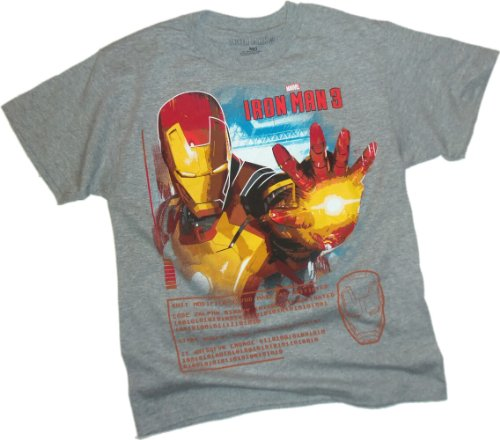 Tech Head -- Iron Man 3 Movie Youth T-Shirt