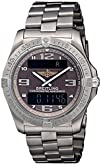 Breitling Mens BTE7936210-Q572TI Aerospace Avantage Chronograph