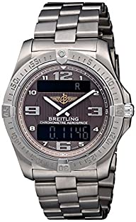 Breitling Men's BTE7936210-Q572TI Aerospace Avantage Chronograph Watch