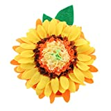 Candygirl DIY Craft Sunflower Plush Pillow