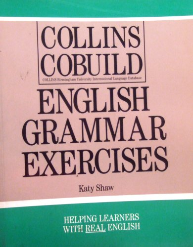 Collins COBUILD English Grammar: Exercises (Collins CoBUILD Grammar) PDF