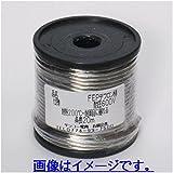 0.5sq FEPテフロン線 耐圧300V 耐熱200℃ 20m ボビン巻き 透明