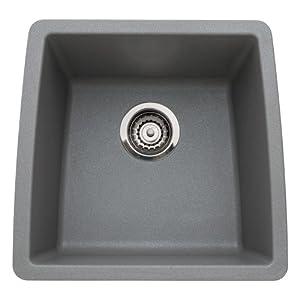 Blanco 440082 Performa Silgranit II Single Bowl Sink, gray