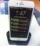 iPhone6 充電スタンド クレードル Lightninng コネクタ対応 4.7インチ専用 HanyeTech Dock