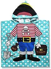 Kid39s Cartoon Printing Hooded Cloak Microfiber Towels Swimming Beach Baby Towels