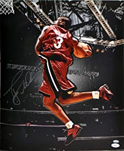 Dwyane Wade Signed Miami Heat Photo - 16x20 - JSA Certified by Sports Memorabilia