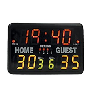 MacGregor SK2229R Multisport Indoor Scoreboard with Remote by SSG
