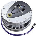 Michelin 92412 Digitaler Hochleistungskompressor mit LED und abnehmbarem Reifendruckprüfer