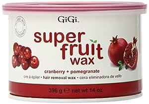 Gigi Super Fruit Wax, Cranberry Plus Pomegranate, 14 Ounce