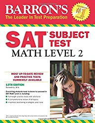 SAT Math Level 2 (Barron's Sat Subject Test Math Level 2)