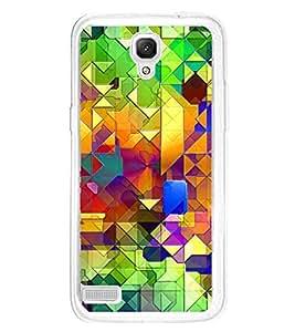 Bright Colourful Pattern 2D Hard Polycarbonate Designer Back Case Cover for Xiaomi Redmi Note :: Xiaomi Redmi Note 4G