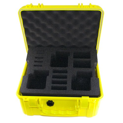 Go Professional Pro Watertight Rugged Case for 3 GoPro, Hero and Hero 2 Cameras – Yellow