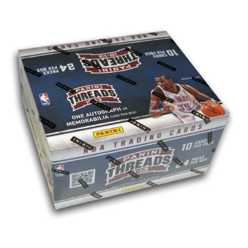Buy 2012 13 Panini Threads NBA Basketball Collector's Cards Retail Box - 24 packs (10 cards per pack) by Threads