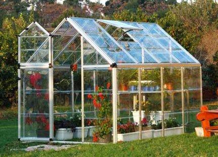 Poly-Tex Snap & Grow Hobbyist Greenhouse – 6ft. x 8ft., Model# HG6008