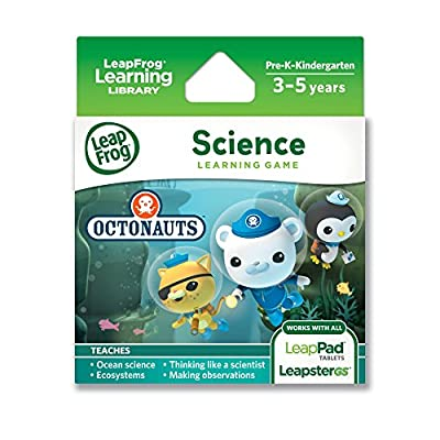 LeapFrog Learning Game: Octonauts (for LeapPad Tablets and LeapsterGS) by LeapFrog