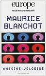 Maurice Blanchot par Volodine