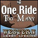 One Ride Too Many   Frank Bonham