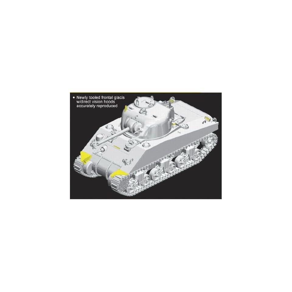1/35 M4 DV (Direct Vision) ~ Smart Kit Sherman Tank armored military vehicle British American Allies WWII World War 2 two II