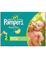 Pampers Baby-Dry Couches Taille 2