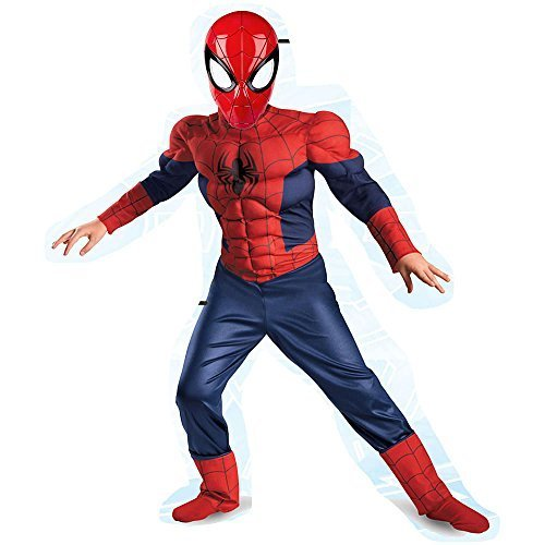 Classic Spiderman Deluxe Dress Up Set Size 4