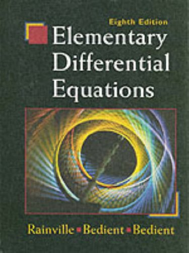 Differential and integral calculus by love and rainville solution manual pdf free download
