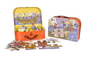 Egmont Toys Puzzle in A Case Pirate (40 Pieces)