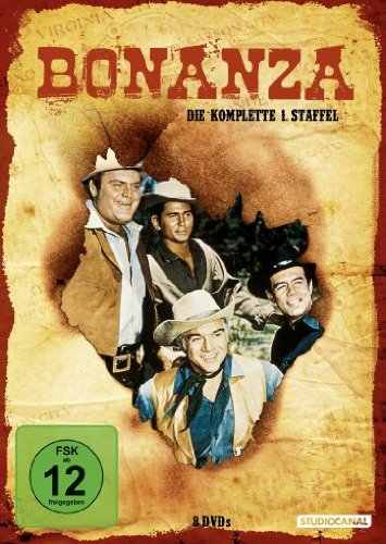 Bonanza - Die komplette 1. Staffel [8 DVDs]