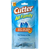 Cutter All Family 15 Count Insect Repellent Mosquito Wipes 7% DEET HG-95838