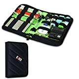 BUBM Portable Universal Electronics Accessories Travel Organizer / Hard Drive Case / Cable Organiser / Baby Healthcare & Grooming Kit-3 Size (Small)
