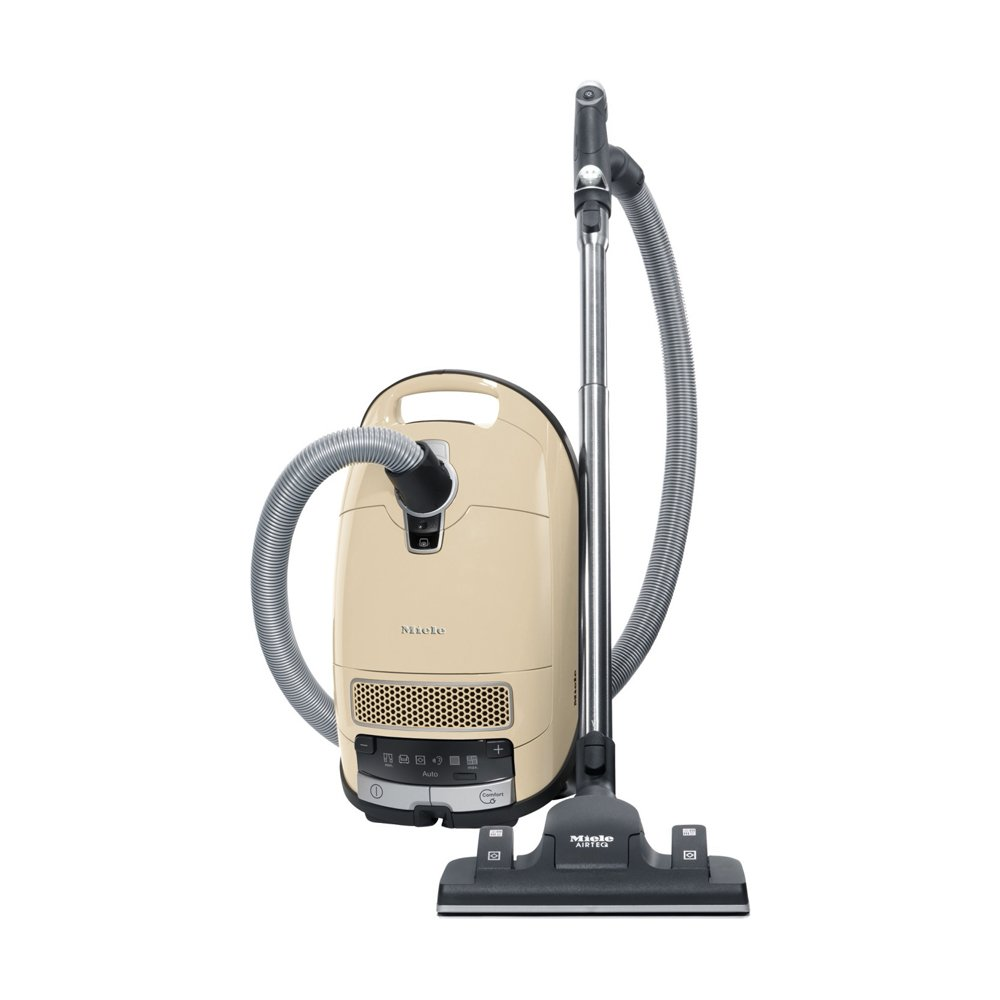 Miele Complete C3 Alize Canister Vacuum, Ivory White