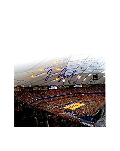 Steiner Sports Memorabilia Jim Boeheim Autographed Carrier Dome Attendance Record Photo