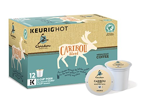 Caribou Coffee Caribou Blend, Keurig K-Cups, 72 Count (Not Coffee K Cups compare prices)