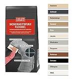 Lugato Sicherheitsfuge Flexibel 1 kg weiss - Fugenmörtel