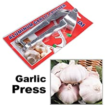 Alcoa Prime Hot Sale Kitchen Tool Aluminum Garlic Ginger Press Crusher E V1NF Shipping